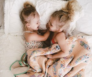 sisters, cute, and baby image