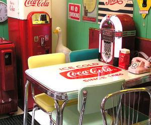 diner and vintage image