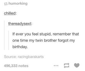 birthday, brother, and funny image