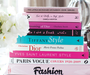 book, fashion, and dior image