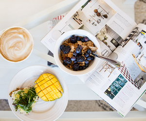 blueberry, breakfast, and style image