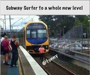funny, level, and surf image