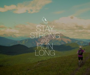 quotes and mountain running image