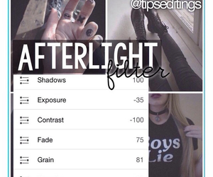 black, cool, and afterlight image