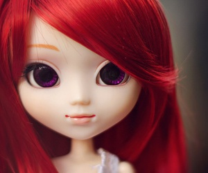 doll, redhead, and pullips image