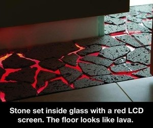 floor, lava, and awesome image