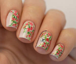 nails and spring image