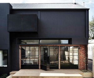 architecture, house, and black image