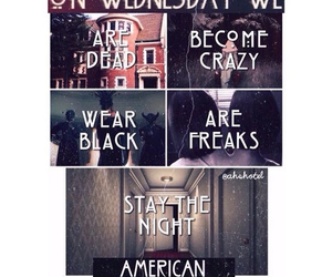 ahs, american horror story, and black image