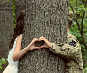 love and soldier image