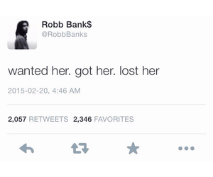 tumblr post and robb bank$ image