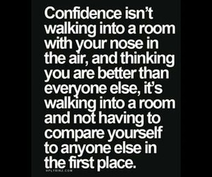 confidence, wise, and quote image