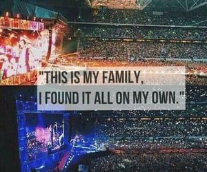 family, stadium, and 1d image