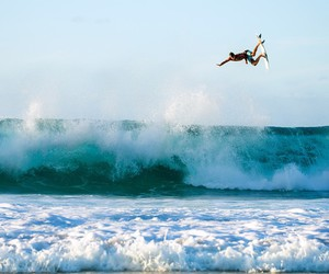 air, summer, and waves image