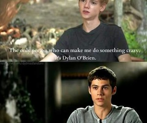 dylan o'brien, the maze runner, and thomas brodie sangster image