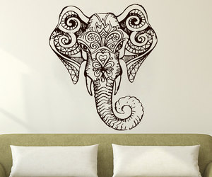 home decor, yoga, and murals image