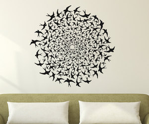 bird, wall decal, and wall decals image