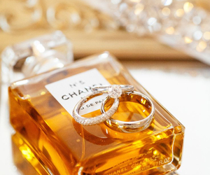 rings, chanel, and perfume image