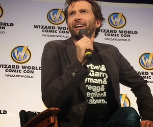 celebs, doctor who, and david tennant image
