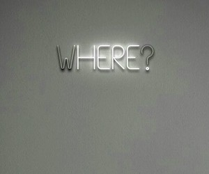 where, here, and light image