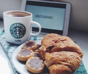 breakfast, food, and starbucks image