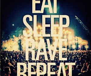 life, music, and rave image