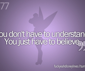 believe, peter pan, and quote image