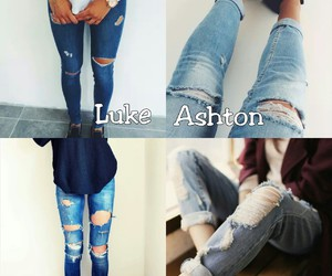 jeans, 5sos, and michael clifford image