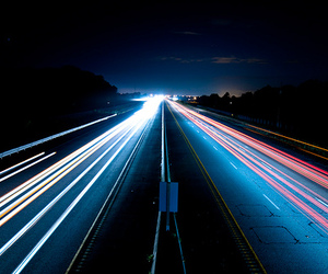 highway and light image