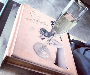 louboutin and champagne image