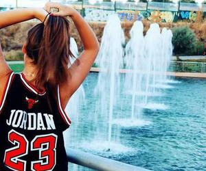girl, jordan, and 23 image