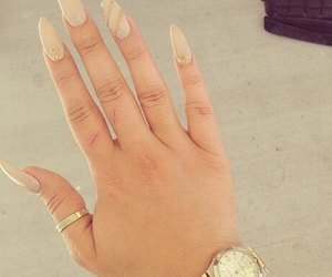 nails, luxury, and watch image