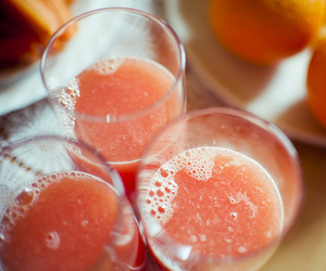 drink, juice, and orange image
