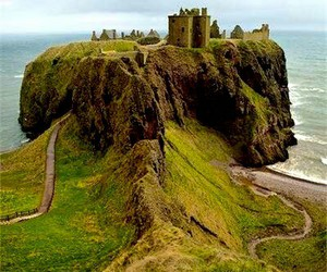 scotland, dunnottar castle, and castle image