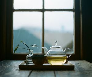 tea, window, and home image