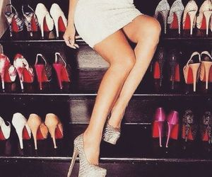 louboutin, shoes, and heels image