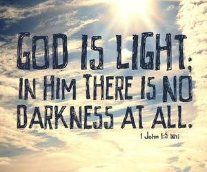 god, light, and quotes image