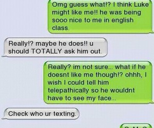 text, message, and funny image