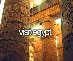 bucket list and egypt image