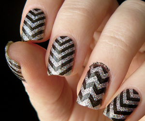 colour, holo, and nail art image