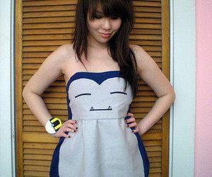 pokemon, dress, and snorlax image