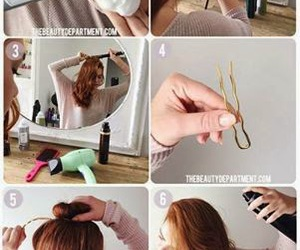fashion, hairstyle, and tutorials image