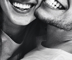 love, smile, and couple image