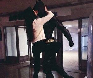 girl, love, and batman image