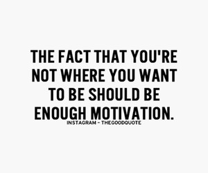 motivation, quote, and goals image