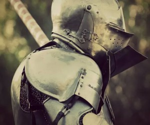 knight, armor, and medieval image