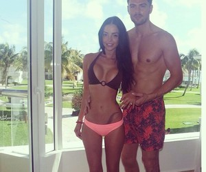 abs, couple, and fitness image