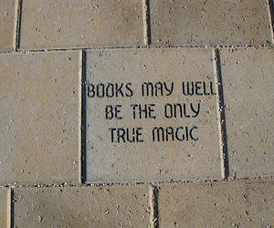 books, quote, and magic image