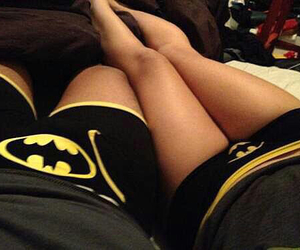 batman, couple, and love image