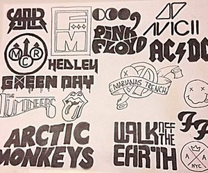 ACDC, arctic monkeys, and green day image